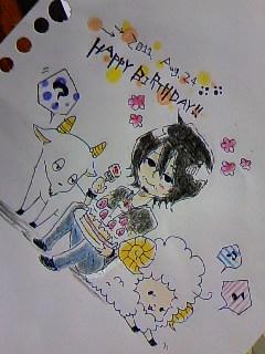 Happy Birthday♪かわしまさん★☆★